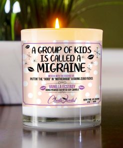 A Group of Kids is Called a Migrane Mantle Candle