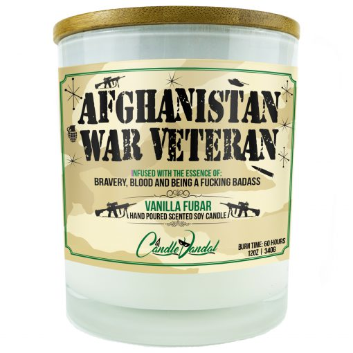 Afghanistan War Veteran Candle