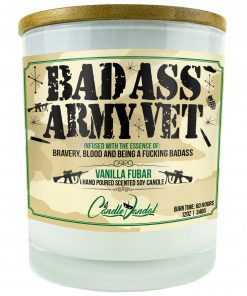 Bad Ass Army Vet Candle