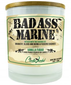 Bad Ass Marine Candle