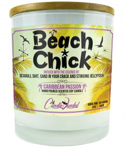 Beach Chick Candle