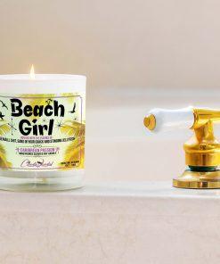 Beach Girl Bathtub Candle