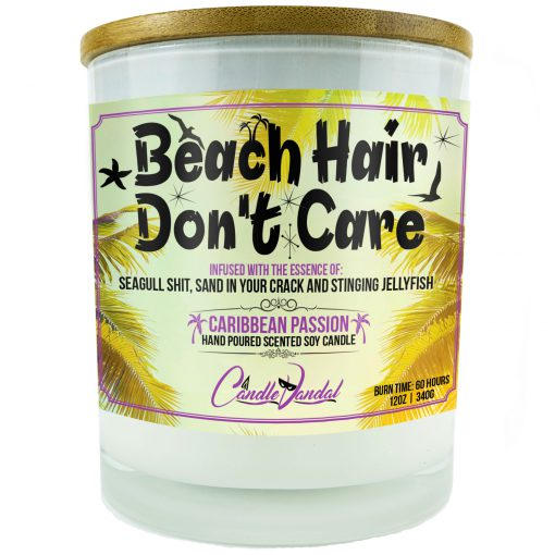 Beach Hair Don't Care Candle