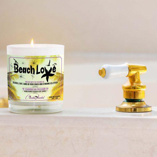 Beach Love Bathtub Candle
