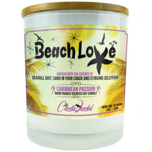 Beach Love Candle