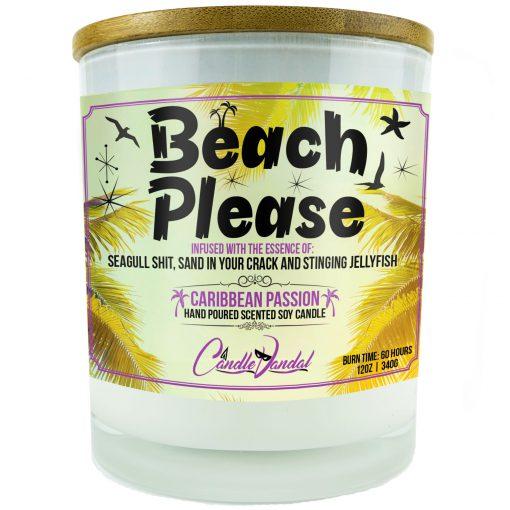 Beach Please Candle