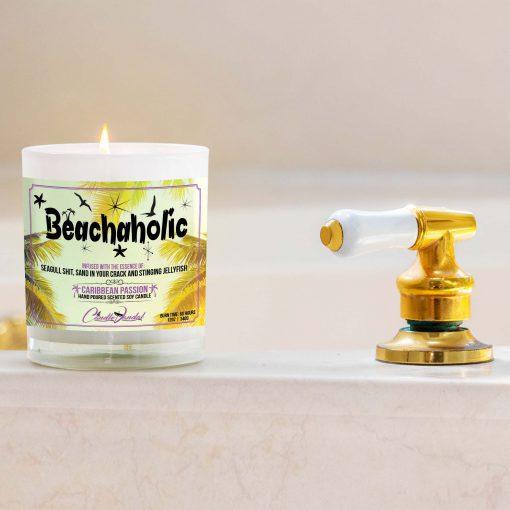 Beachaholic Bathtub Candle