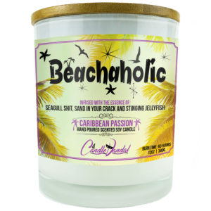 Beach Aholic Candle