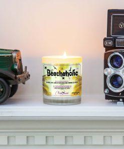 Beachaholic Mantle Candle