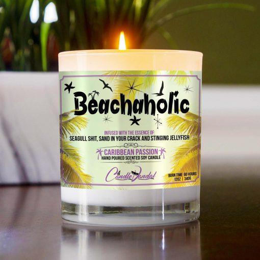 Beachaholic Table Candle