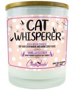 Cat Whsiperer Candle