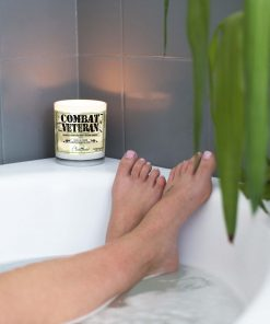Combat Veteran Bathtub Candle