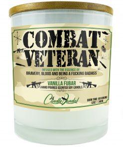 Combat Veteran Candle