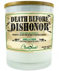 Death Before Dishonor Candle
