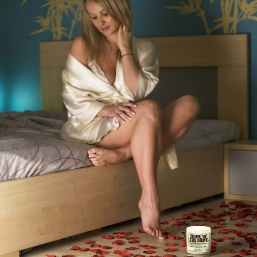 Home of the Brave Bedroom Candle