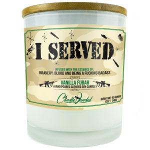 I Served Candle
