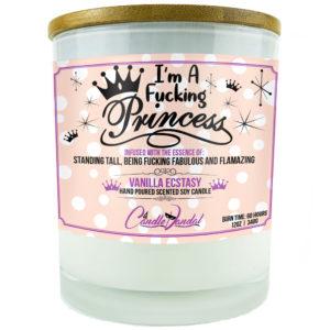I'm a Fucking Princess Candle