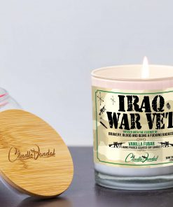 Iraq War Veteran Lid and Candle