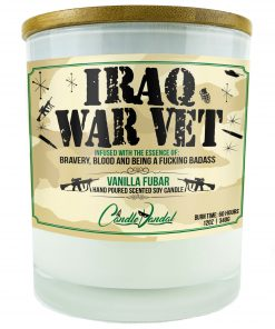 Iraq War Vet Candle