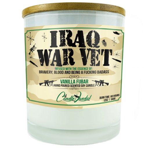 Iraq War Vet Candle