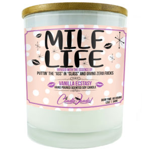 MILF Life Candle