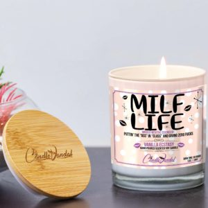 MILF Life Lid and Candle