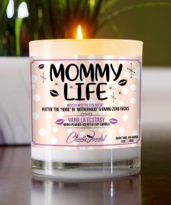 Mommy Life Table Candle