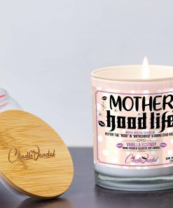 Mother Hood Life Lid and Candle
