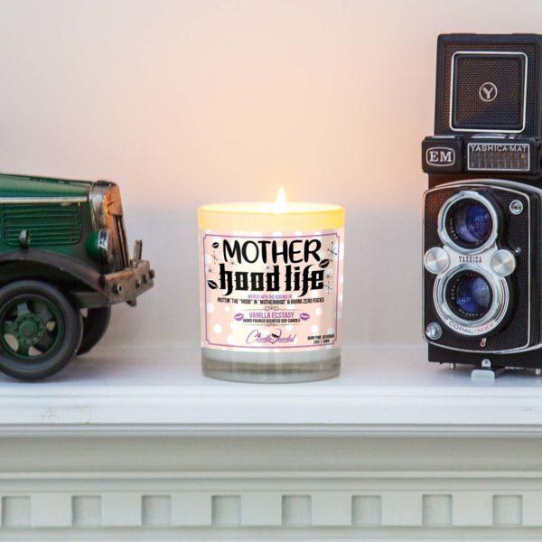 Mother Hood Life Mantle Candle