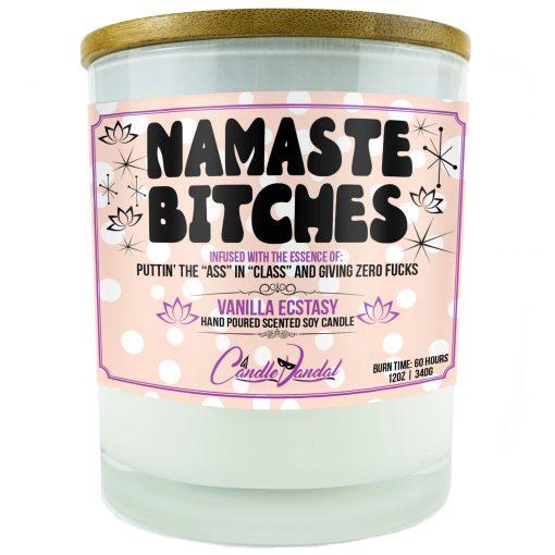 Namaste Bitches Candle