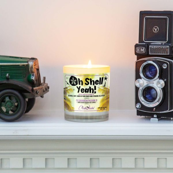 Oh Shell Mantle Candle