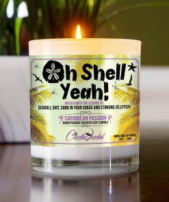 Oh Shell Yeah Table Candle