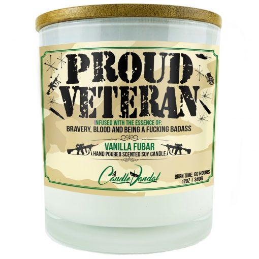 Proud Veteran Candle