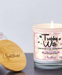 Trophy Wife Lid and Candle