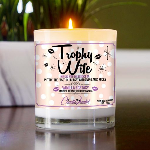 Trophy Wife Table Candle