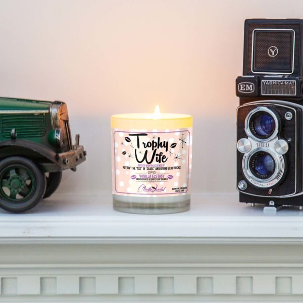 Trophy Wife Mantle Candle