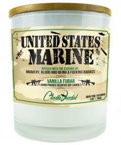 United States Marine Candle