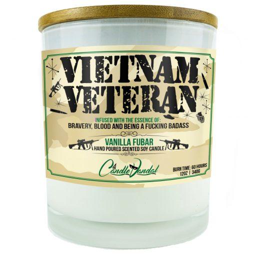 Vietnam Veteran Candle