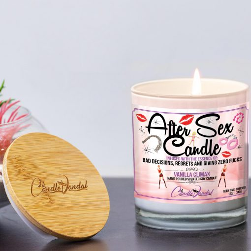 After Sex Candle and Lid By Candle Vandal
