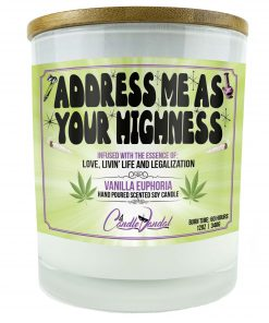 Address Me As Your Highness Candle