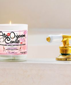 After Orgasm Candle Bathtub Side Candle