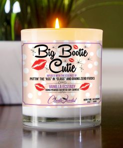 Big Bootie Cutie Table Candle