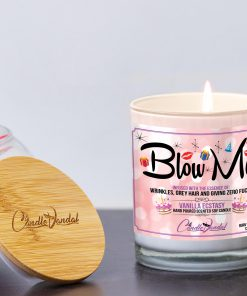 Blow Me Lid and Candle