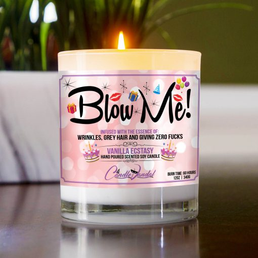 Blow Me Table Candle