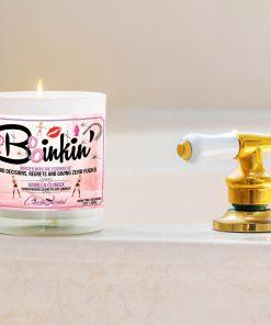 Boinkin' Bathtub Side Candle
