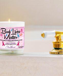 Boob Lives Matter Bathtub Side Candle