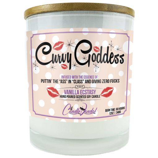 Curvy Goddess Candle