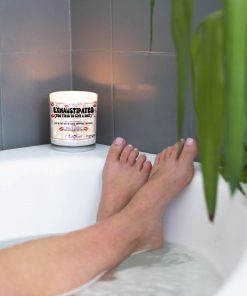 Exhausttipated Too Tired To Give A Shit Bathtub Candle