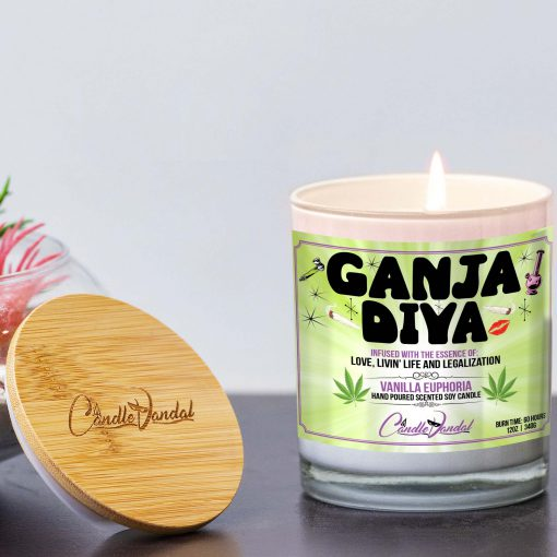 Ganja Diva Lid And Candle