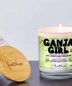 Ganja Girl Lid And Candle